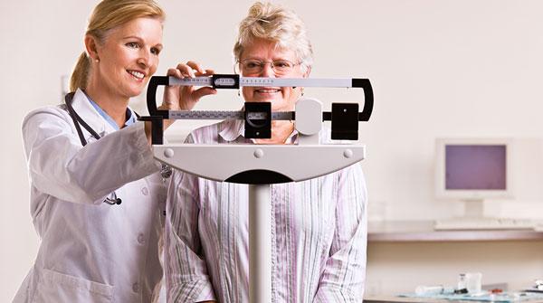تغییرات وزن در طول درمان سرطان
