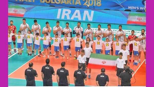 تیم ملی والیبال ایران حماسه ساخت