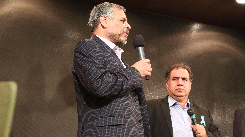 گوشه ای از صحبت های سفیران و همراهان همیشگی موسسه خیریه محمد حسین رضوی