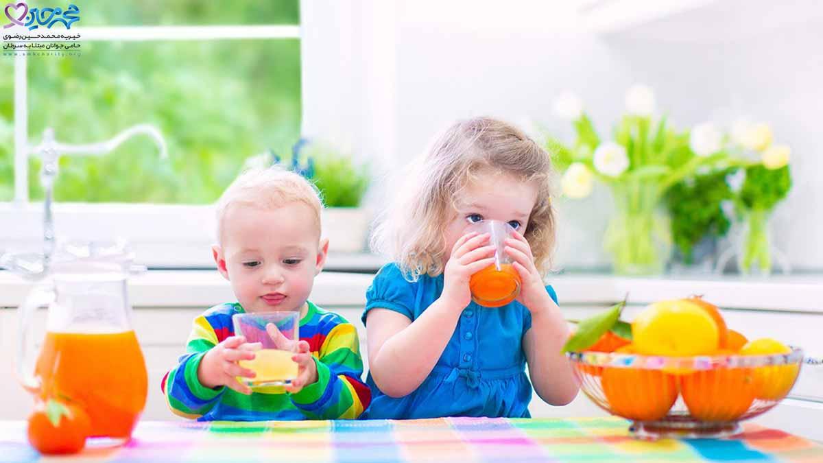 تغذیه مناسب برای کودکان سرطانی