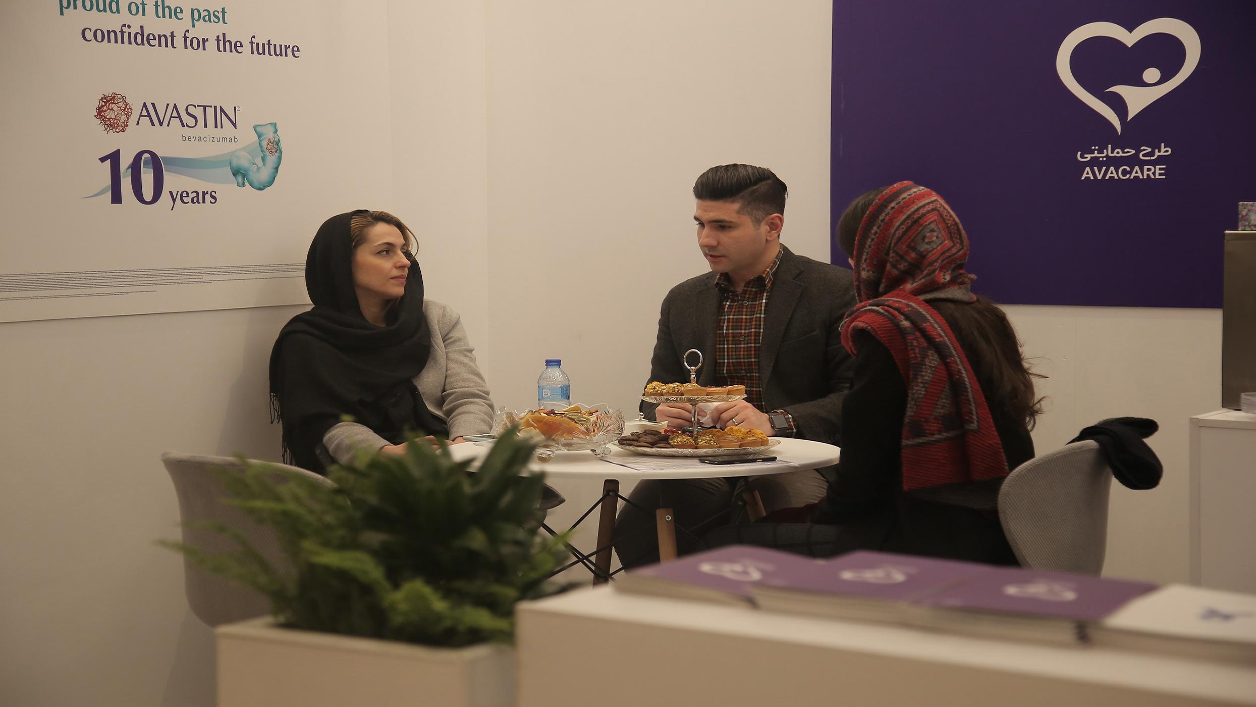 (شرکت های دارویی و پزشکی حامی موسسه خیریه محمد حسین رضوی در اولین سمینار سرطان در جوانان درسطح خاورمیانه)