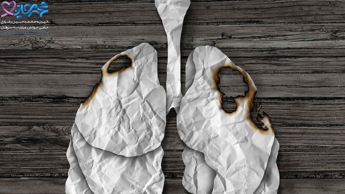 آلودگی هوا عامل اصلی سرطان ریه